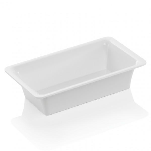 GN Behälter 1/4-065 mm, elfenbein, Melamin