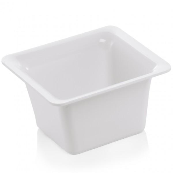 GN Behälter 1/6-100 mm, elfenbein, Melamin