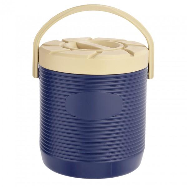 Thermospeisetransportbehälter, 12 ltr., blau, Kunststoff mit PU-Isolierung