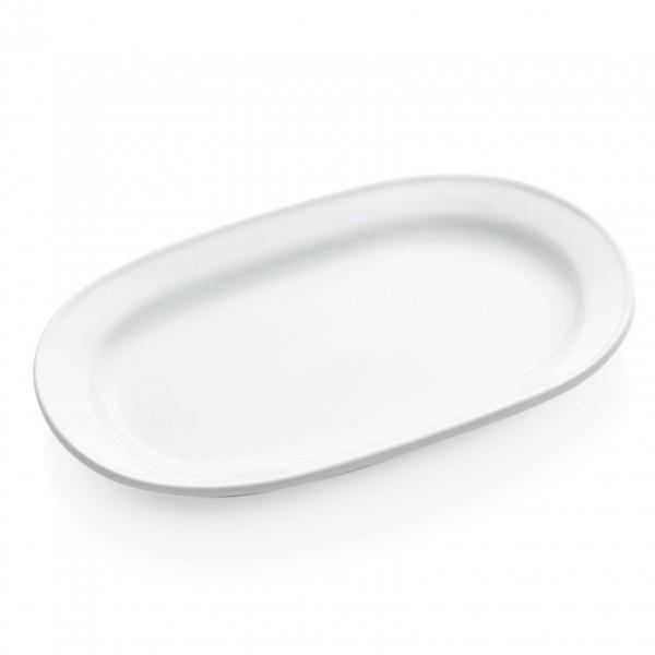 Platte, 35 x 21 cm, Porzellan