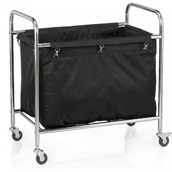 Ersatzwäschesack für Wäschewagen 4421 204, schwarz