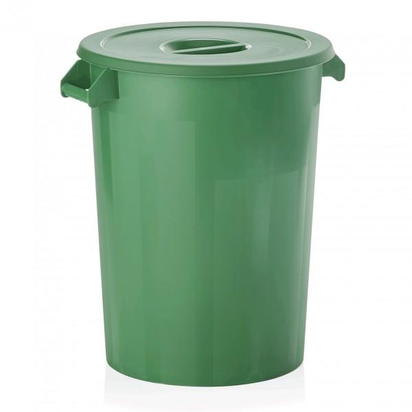 Zutaten-/Lagerbehälter, grün, 100 ltr., Polyethylen