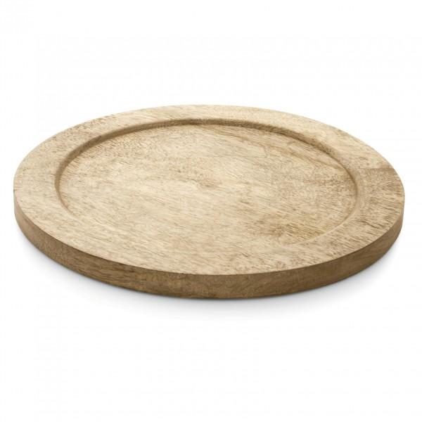 Holzuntersetzer, Ø 28 cm, für Eisenpfanne 2256 & 2259