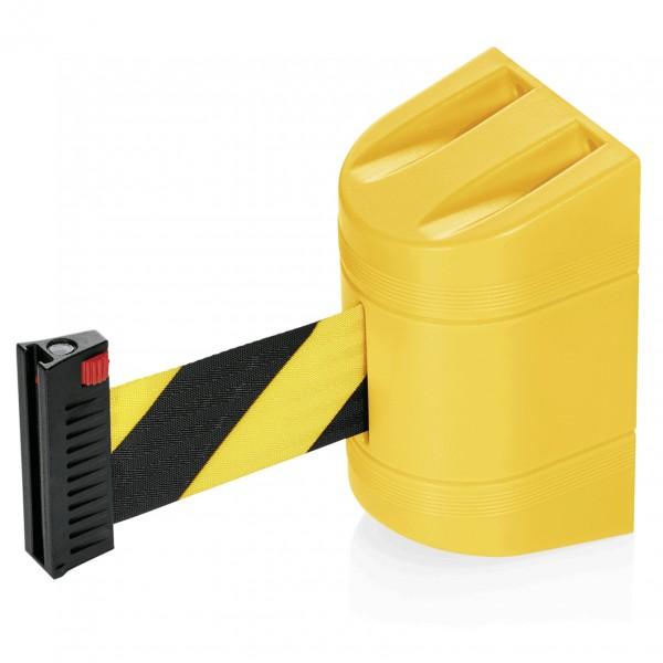 Gurtband Lightflex für Wandmontage, 2 m, schwarz/gelb