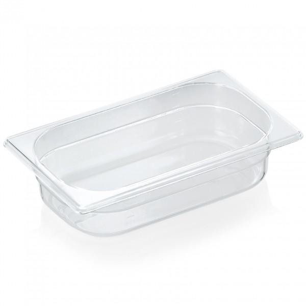 GN Behälter 1/4-065 mm, Polycarbonat