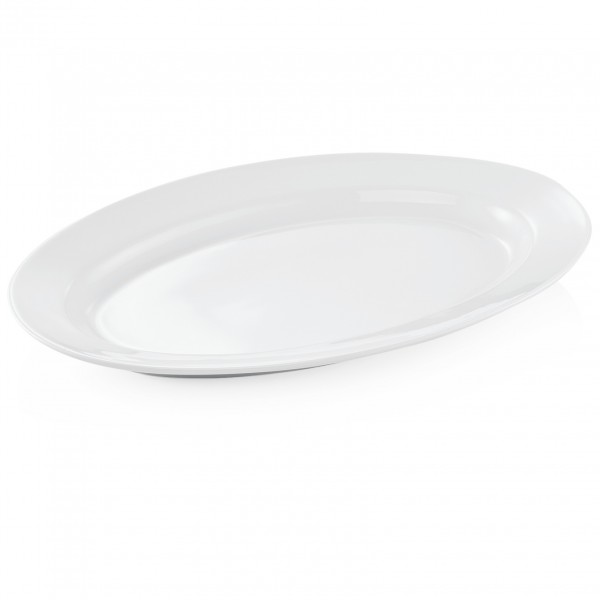Platte, oval, 40 x 27 cm, Porzellan