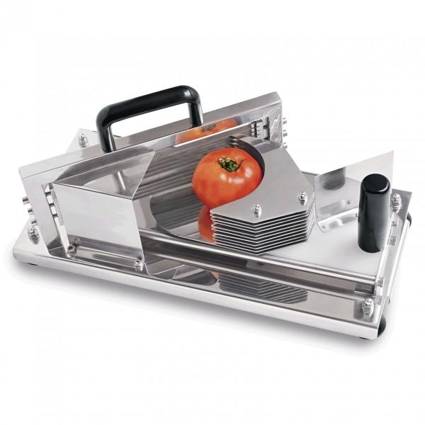 Tomatenschneider, 43 x 20 x 19,5 cm, Chromnickelstahl