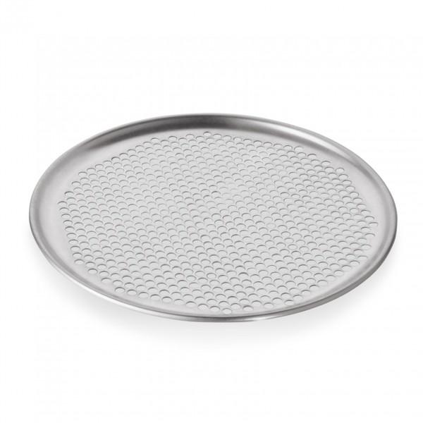 Pizzablech, Ø 30 cm, perforiert, Aluminium