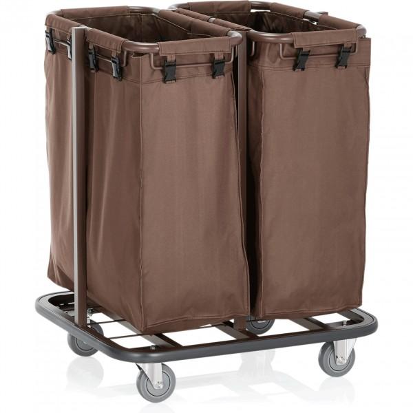 Wäschewagen, 68 x 65 x 90 cm, Stahl pulverbeschichtet