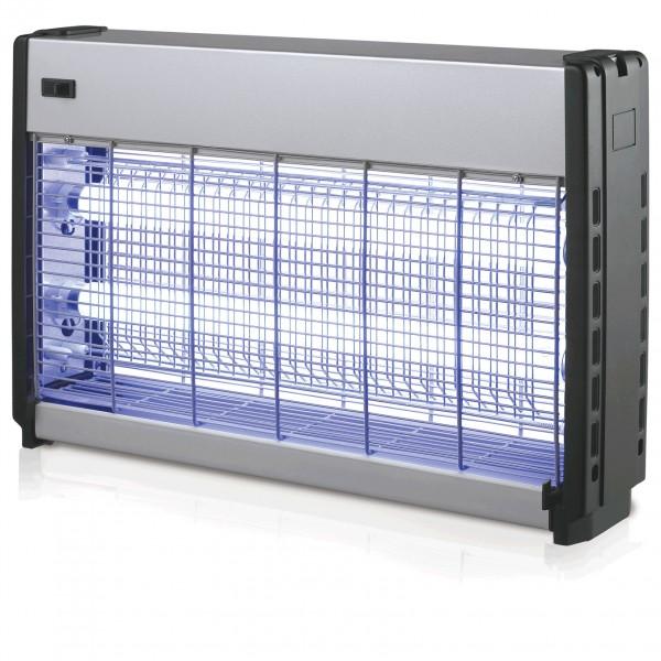 Insektenvernichter, 63,5 x 9 x 36 cm, Aluminum eloxiert/ABS Seitenteile