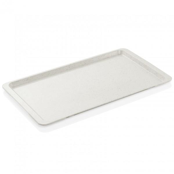 Tablett GN 1/1, granitgrau, Polyester