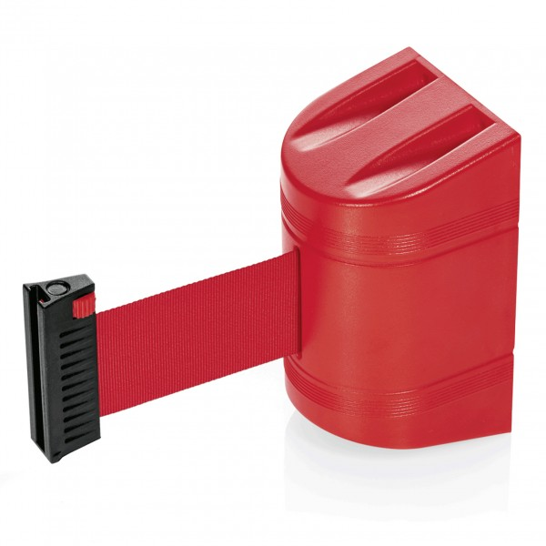 Gurtband Lightflex für Wandmontage, 2 m, rot