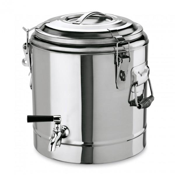 Thermogetränkebehälter, 22 ltr., Chromnickelstahl