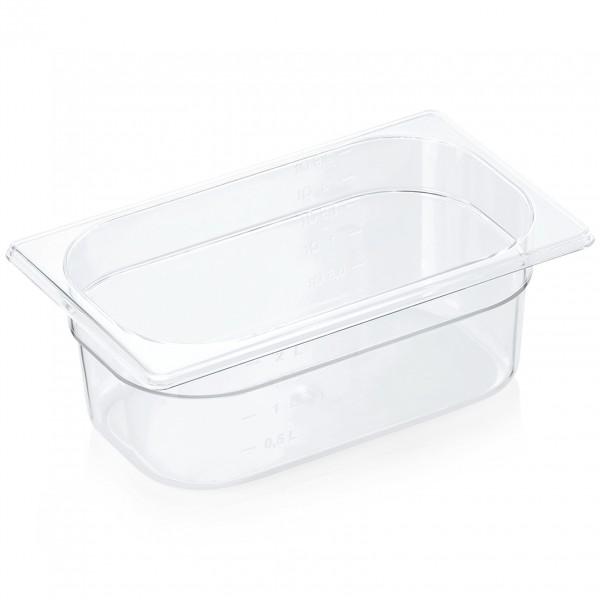 GN Behälter 1/4-100 mm, Polycarbonat