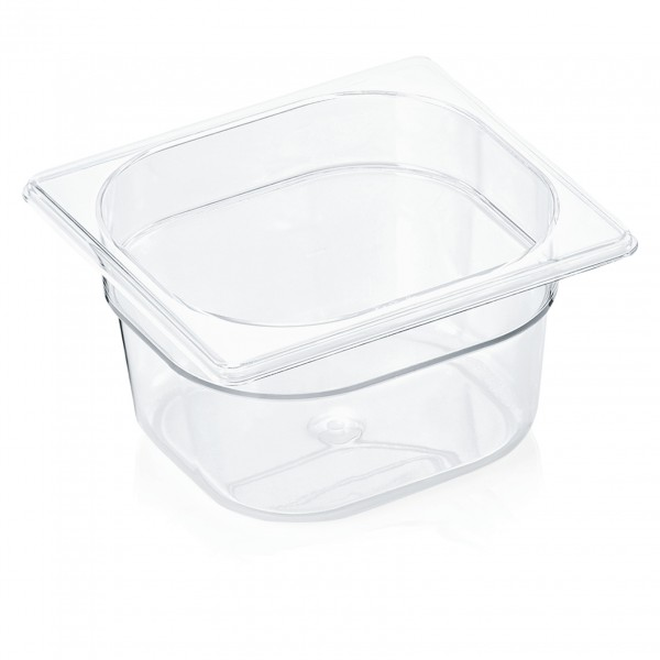 GN Behälter 1/6-100 mm, Polycarbonat