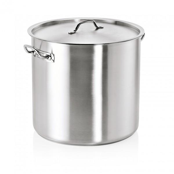 Suppentopf mit Deckel, Ø 40 cm, 47 ltr., Edelstahl