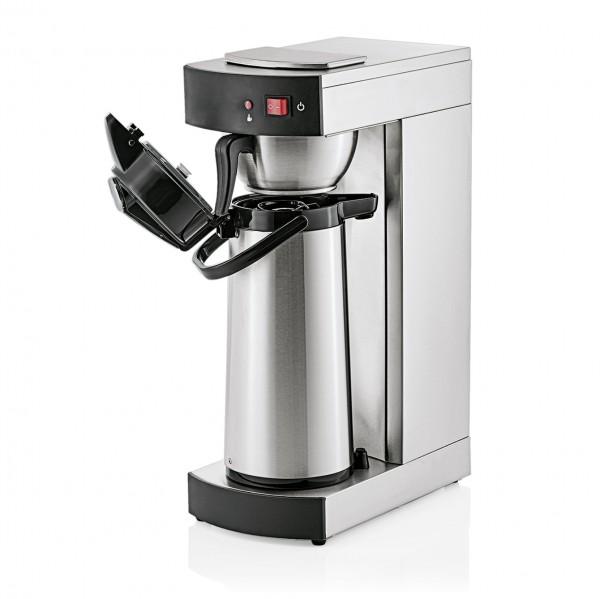 Kaffeemaschine mit Pumpkanne, 2,0 ltr., Chromnickelstahl