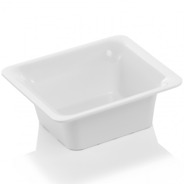 GN Behälter 1/6-065 mm, elfenbein, Melamin